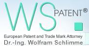 WSPatent ® | European Patent and Trademark Attorney Dr. Wolfram Schlimme